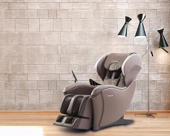 按摩椅家用全身电动多功能小型皮革滑躺设计精选推荐EP-MA04-T492 深茶色