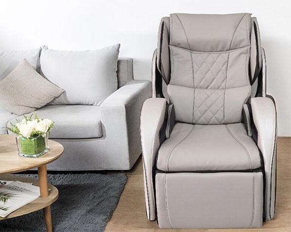 松下按摩椅家用全身全自动多功能3D机械手按摩椅官方旗舰款MAC8 深米色 20年新款