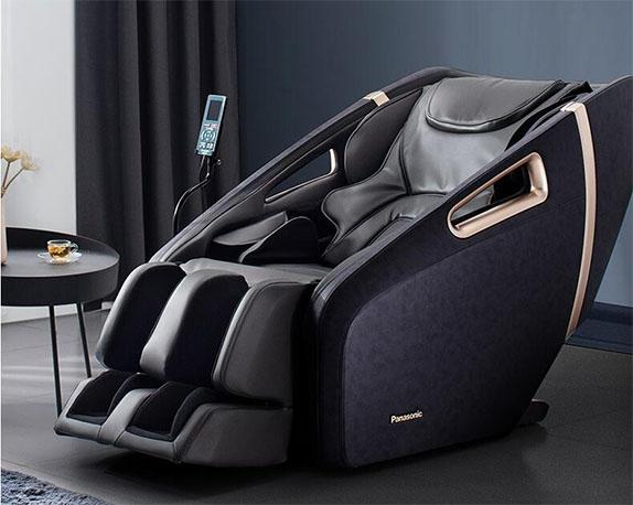 Panasonic/松下按摩椅全身家用智能全自动老人升级款按摩椅精选推荐EP-MA32 K492-黑金色