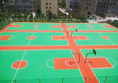 院校学府健身户外运动场