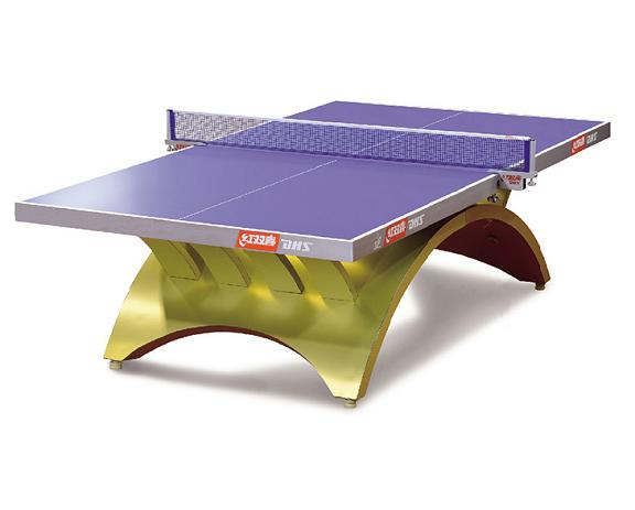 常熟DHS红双喜金彩虹乒乓球台国际专业大赛比赛室内乒乓球桌带LED灯