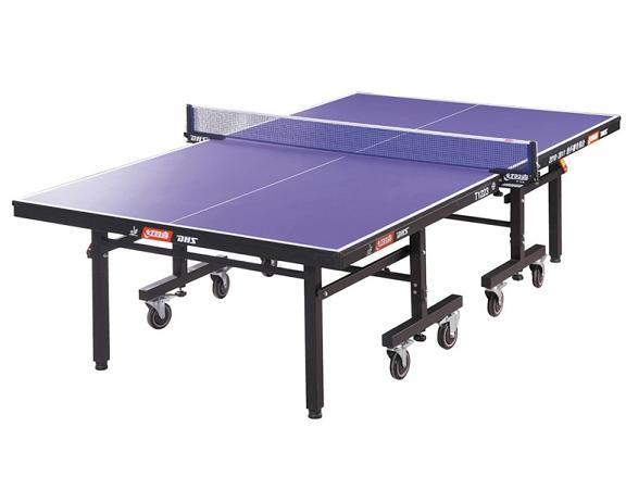 T1223红双喜乒乓球桌移动式折叠家用乒乓球台专业大赛比赛兵乓球桌